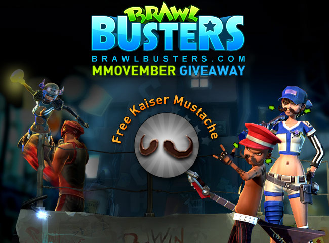 Click image for larger version. Name:	Brawl Busters Free Moustache Giveaway.jpg Views:	122 Size:	90.8 KB ID:	12386