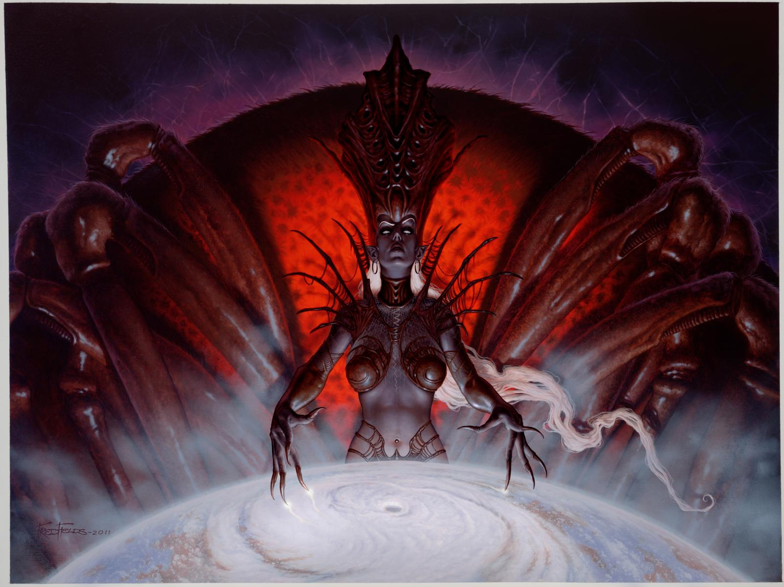 Click image for larger version. Name:	Lolth Painting-sm.jpg Views:	150 Size:	182.6 KB ID:	13055