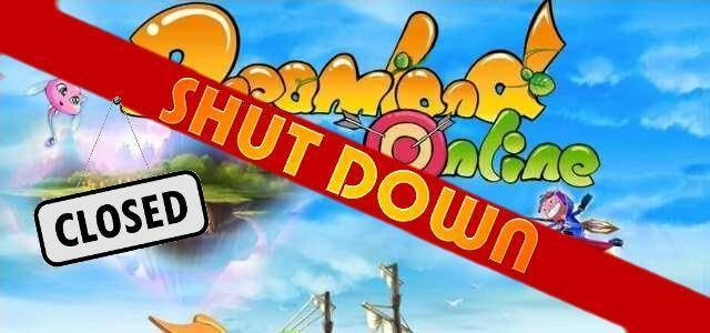 Dreamland Online - logo 640 shut down