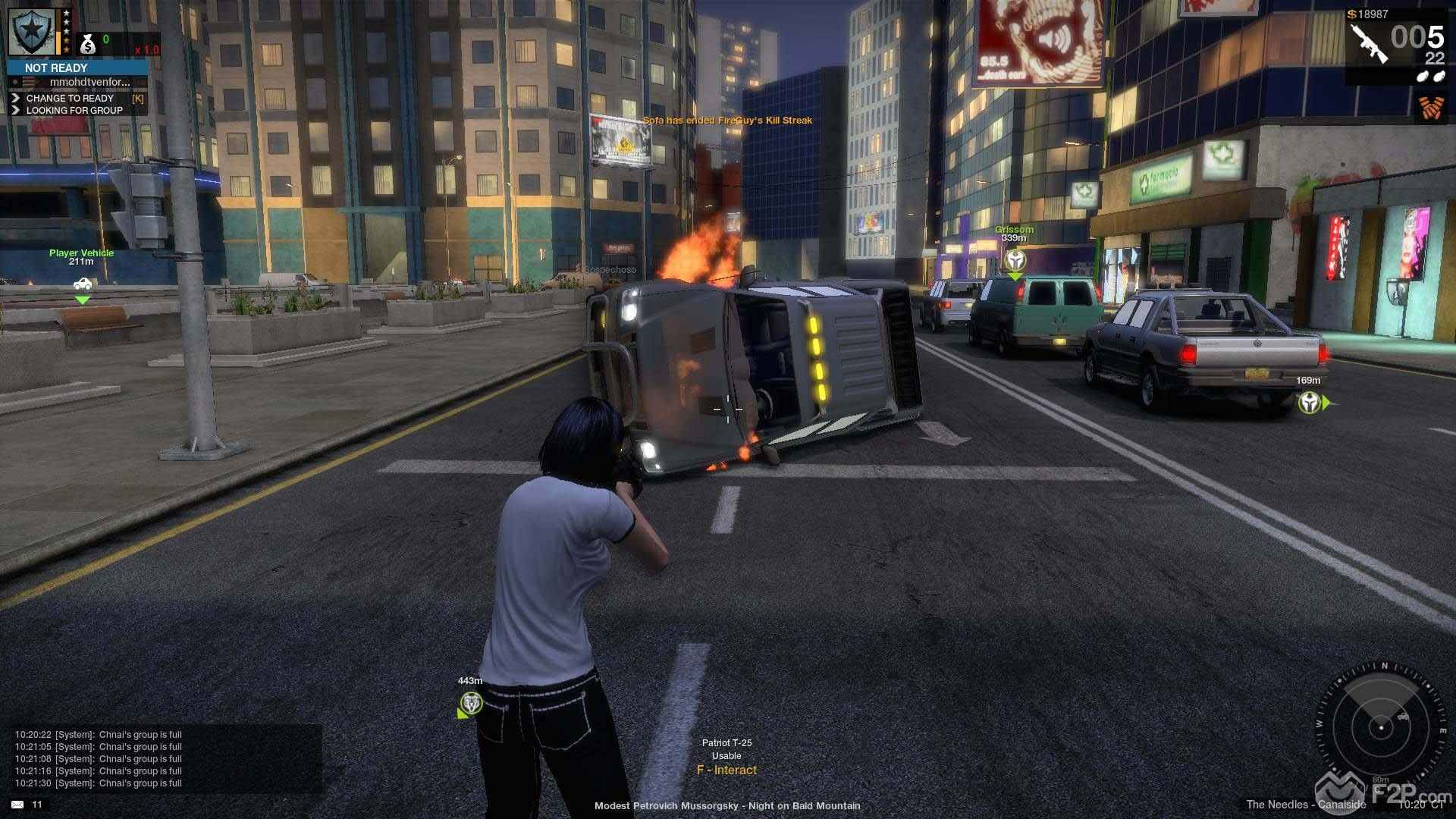 apb matchmaking Two enforcers chase criminals at the docks.