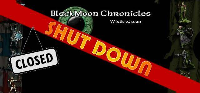 BlackMoon Chronicles - logo 640 shut down