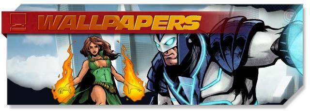 Champions Online - Wallpapers headlogo - EN