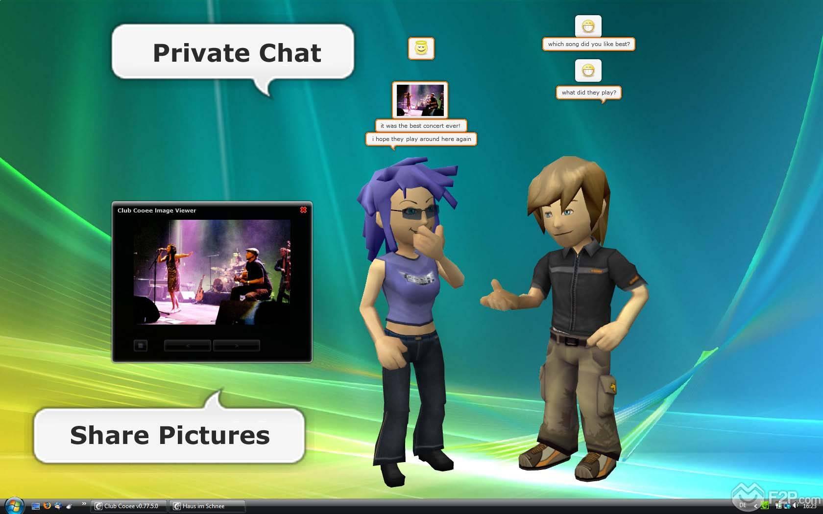 Club Cooee Screenshots