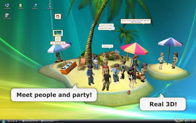 Club Cooee Review - Club Cooee 3D Chat Virtual World