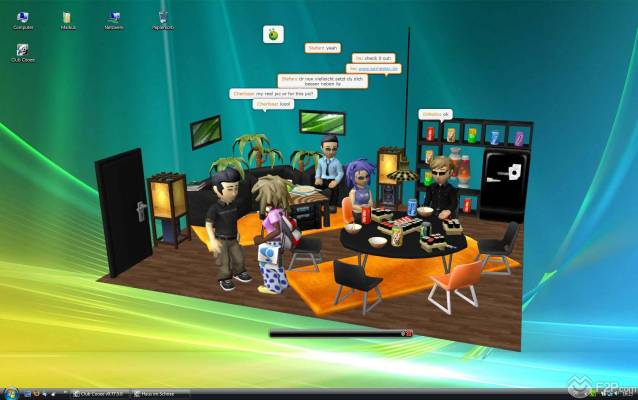 Club Cooee is a Free 3D Chat community. Meet and Chat with new friends. Dress up your 3D avatar. Create and decorate your 3D Chat rooms here in F2P.com