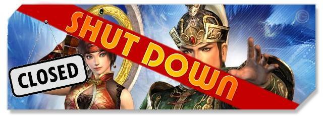 Dynasty Warriors - logo shut down - F2P & Family