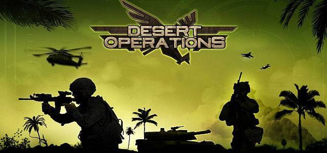 Desert Operations military strategy game