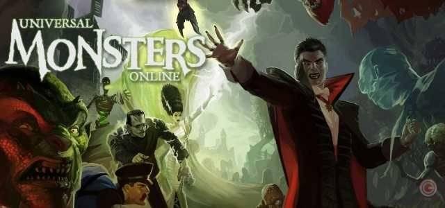 Univeral Monsters Online - logo640