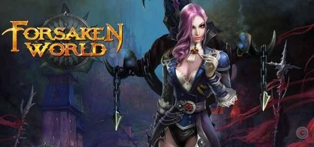 Forsaken World - logo640