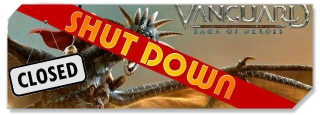 Vanguard - shut down - logo f2p