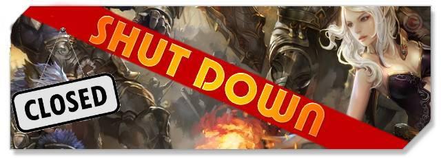 DK Online - Shut down logo - F2P Network