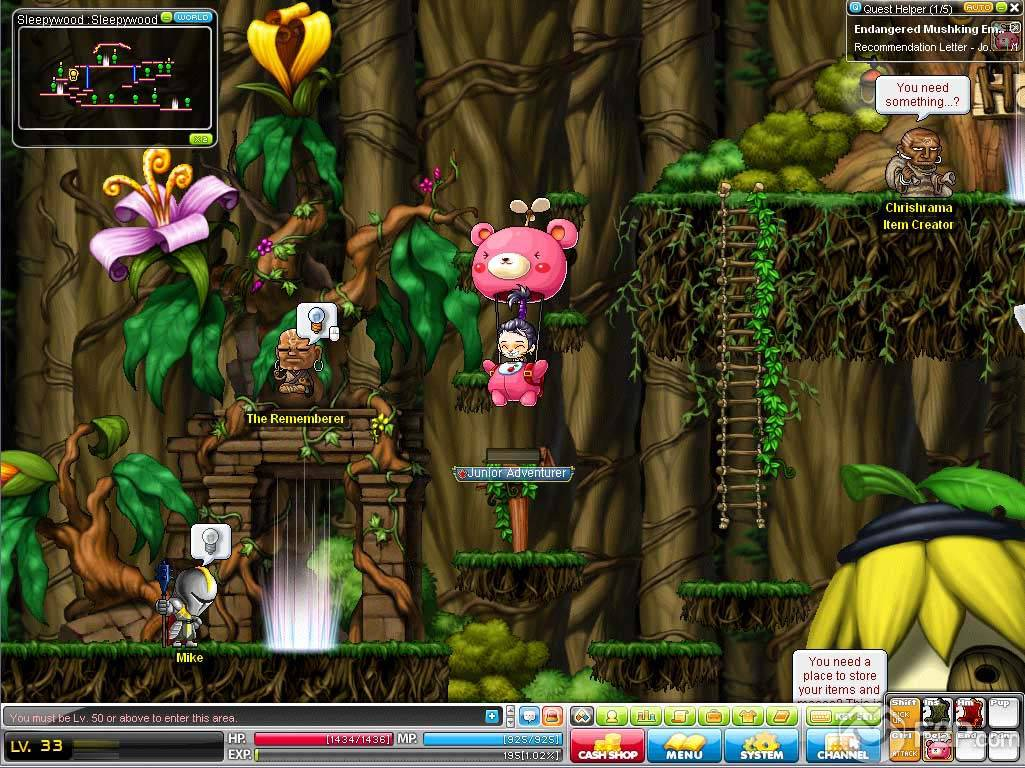 MapleStory-screenshot-5 Good quality Solutions to Help to make maplestory mesos