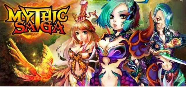 Mythic Saga - logo640