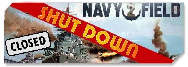 Navyfield 2 - shut down logo - F2P Network