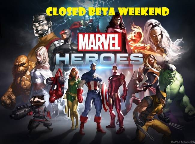 Marvel heroes closed beta key giveaway