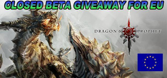 Dragon's Prophet new closed beta keys giveaway
