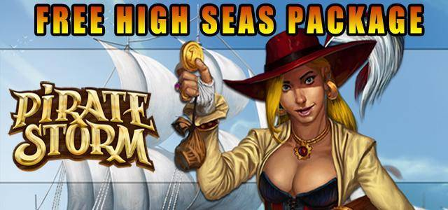 Pirate Storm, free high seas packages giveaway