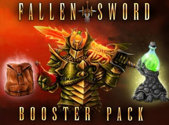 Fallen Sword - Free item Giveaway - Booster Pack