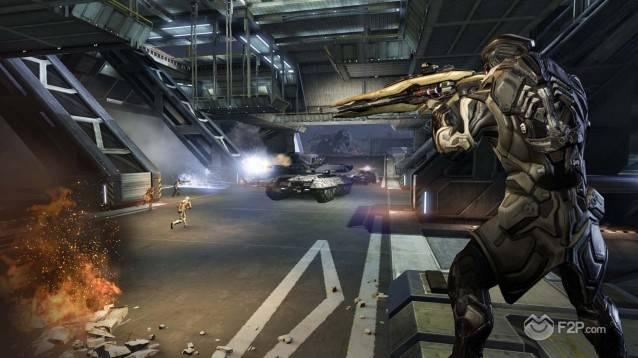 Interior Firefight