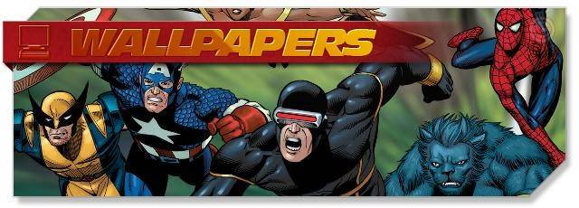 Marvel Heroes - Wallpapers - EN