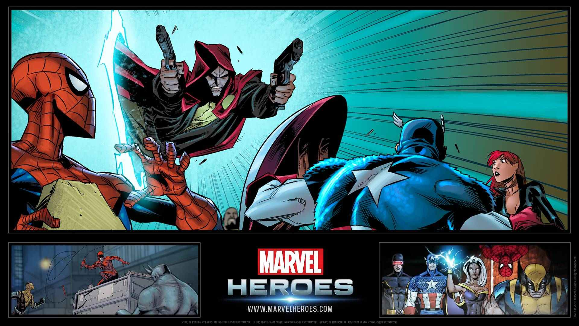 marvel heroes 2015 wallpapers
