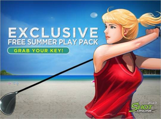 Shot Online 2013 Free summer play pack