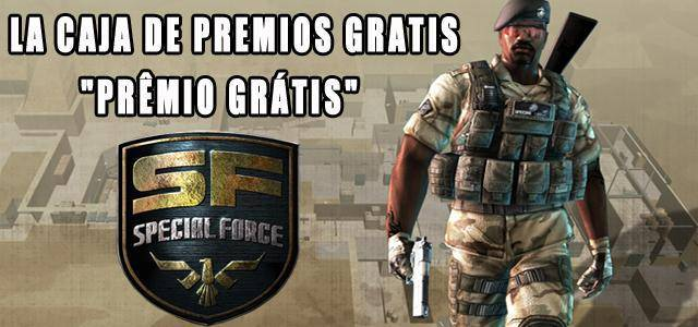 Special Force free items giveaway for the Spanish and Portuguese versions