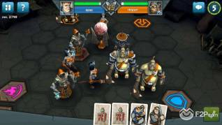 Epic Arena Card Board game screenshot 26092013 1