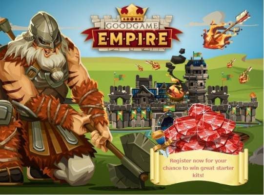 GoodGame Empire Starting Pack raffle