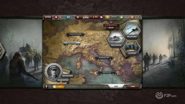 Panzer General Online shot 2