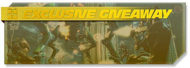 Warframe exclusive giveaway