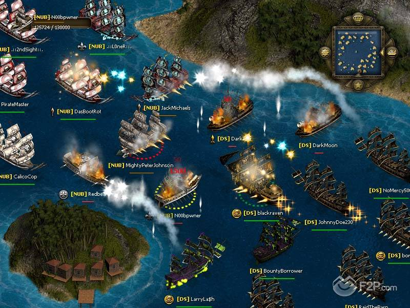 SeaFight Free2Play MMO RPG Browser Game