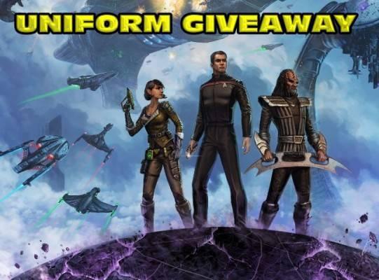 Star Trek Online - giveaway - uniform