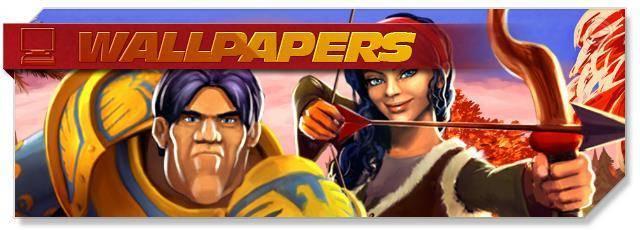 Villages & Heroes - Wallpapers - EN