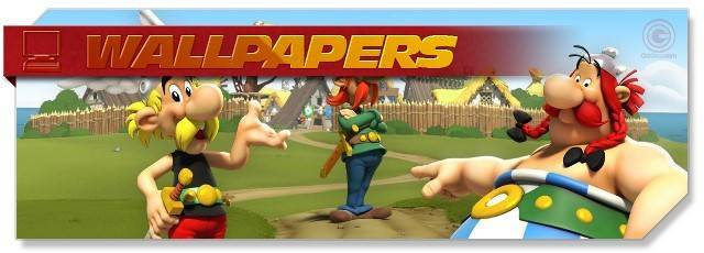 Asterix & Friends - Wallpapers - EN