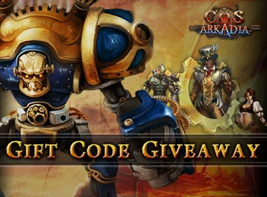 CoS Arkadia Giveaway