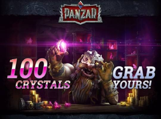 Panzar 100 Crystals Free Items