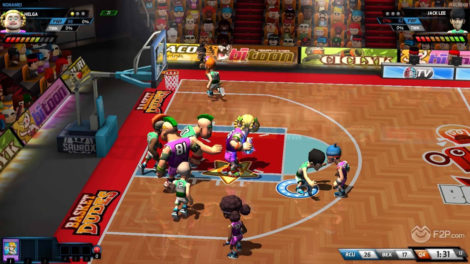 Free Basketball MMO BasketDudes Releases Custom Tournaments