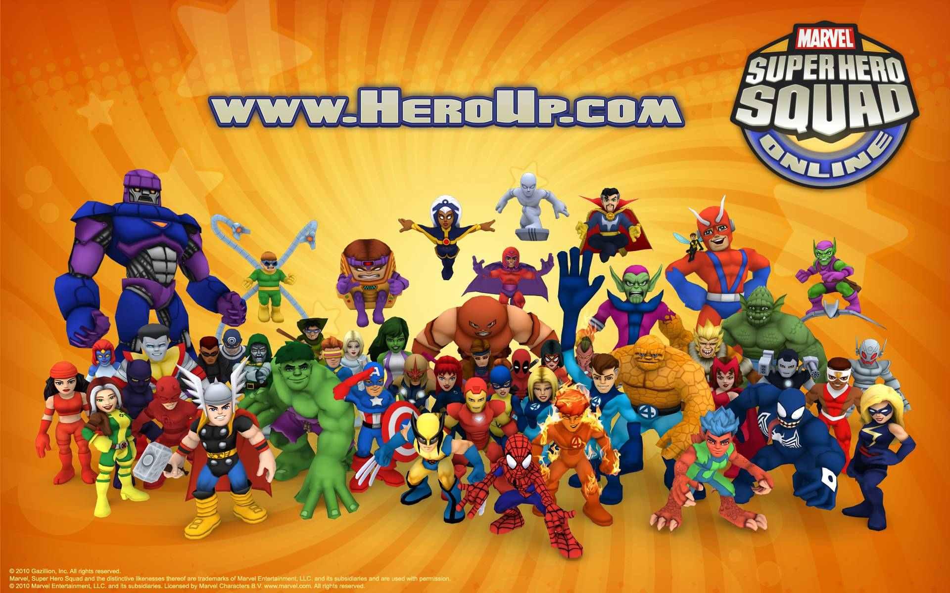 marvel superhero online games