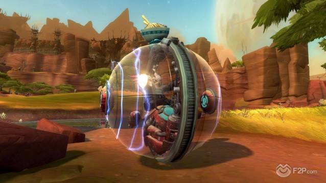 WildStar_Customisation_-_Mounts_-_Chua_Driving_Chua_Ball