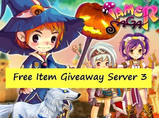 Tamer Saga Giveaway Server 3