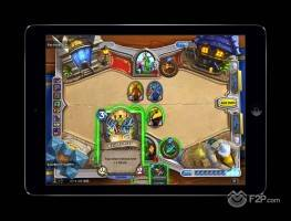 Hearthstone on iPad 2