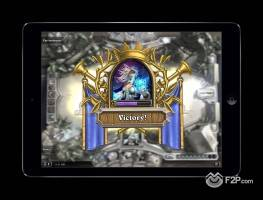 Hearthstone on iPad 3