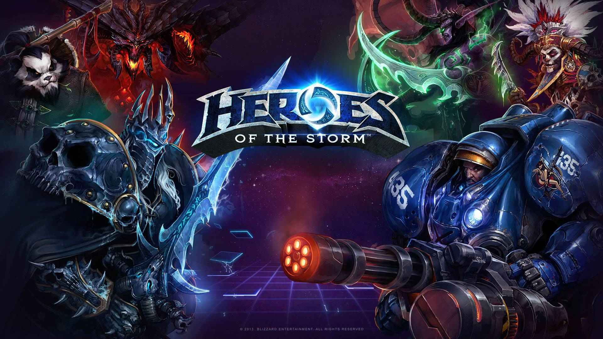 Heroes Of The Storm Wallpaper 1