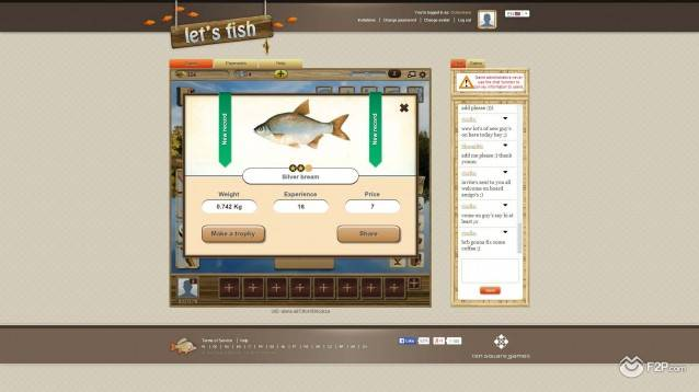 Let's Fish screenshot 2