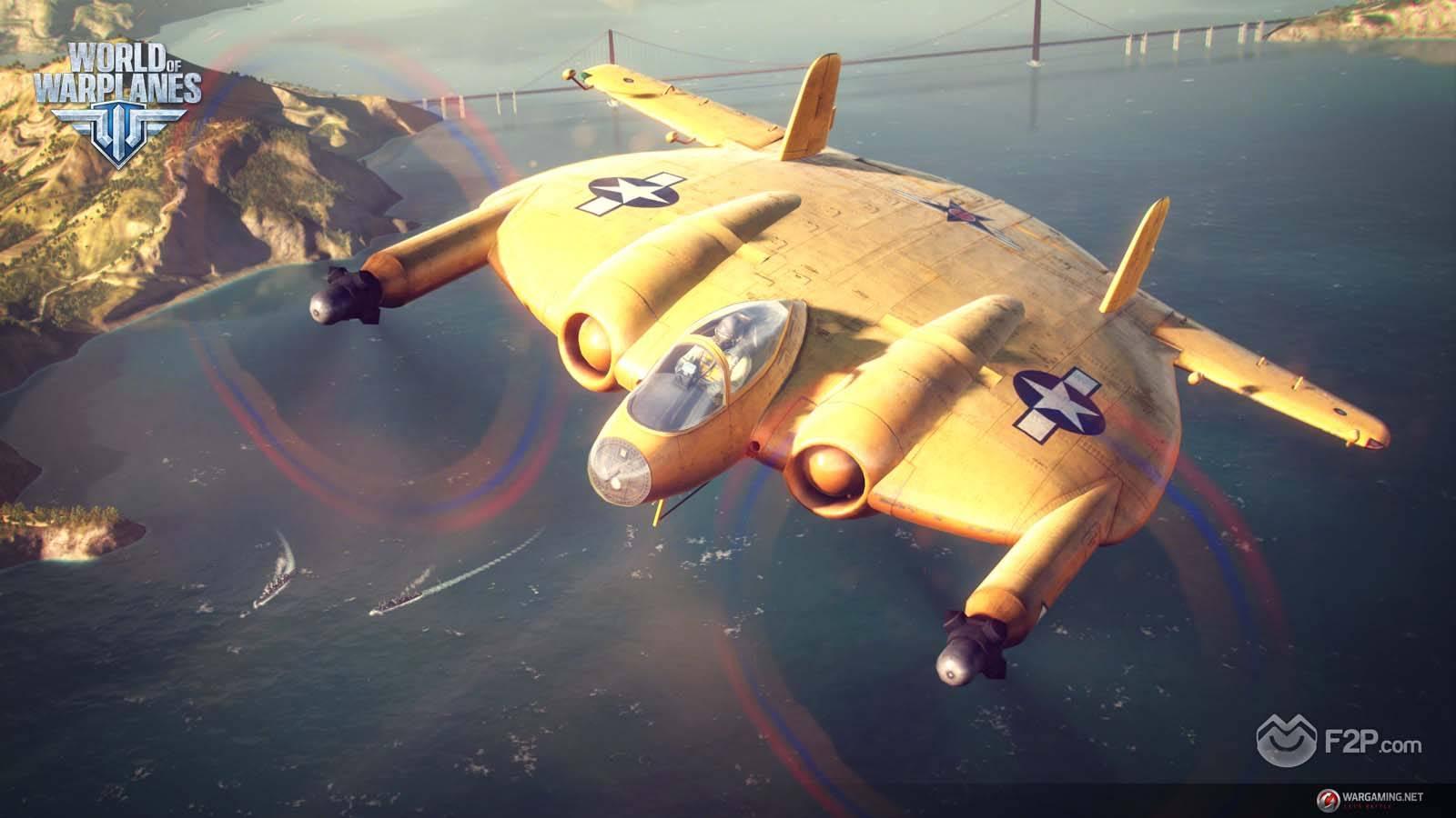 American Heavy Fighters Arrive On World Of Warplanes