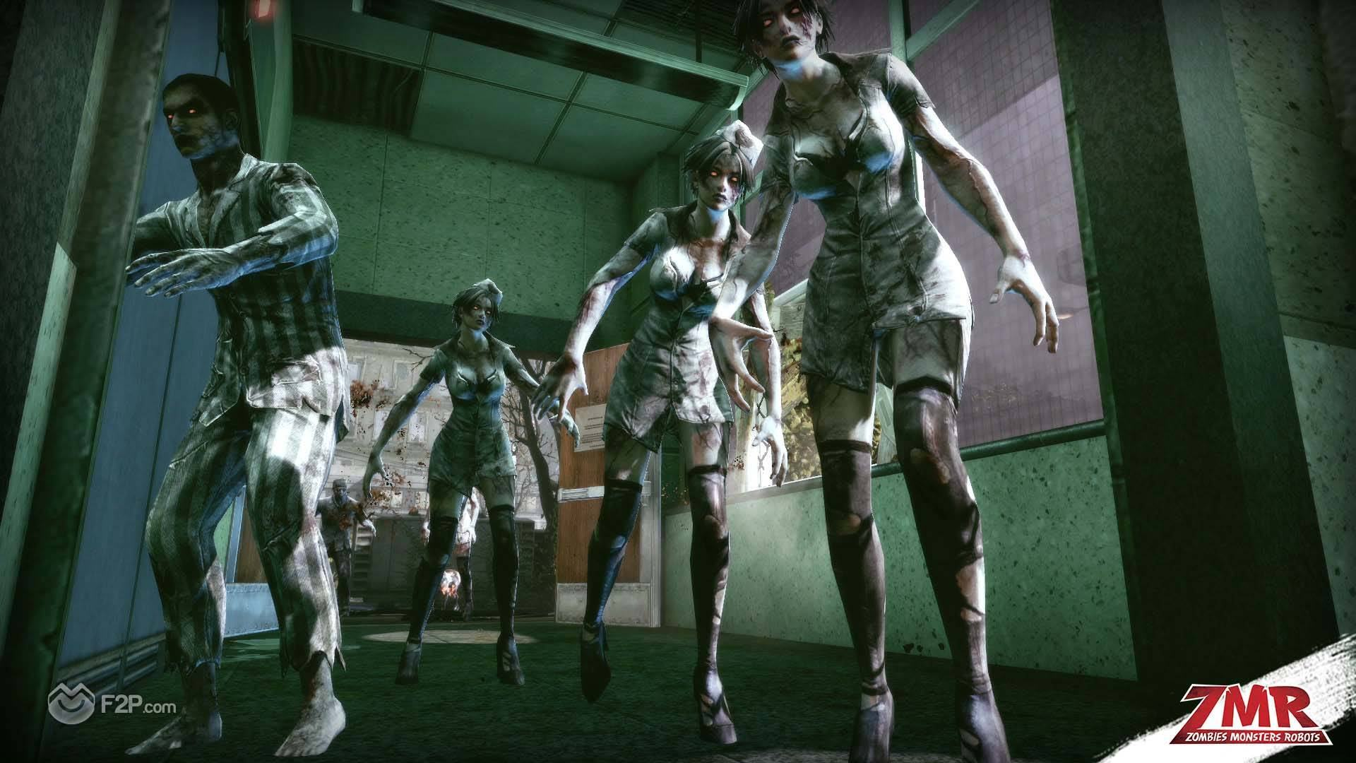 zombie robot games