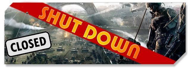 EndWar Online - Shutdown headlogo