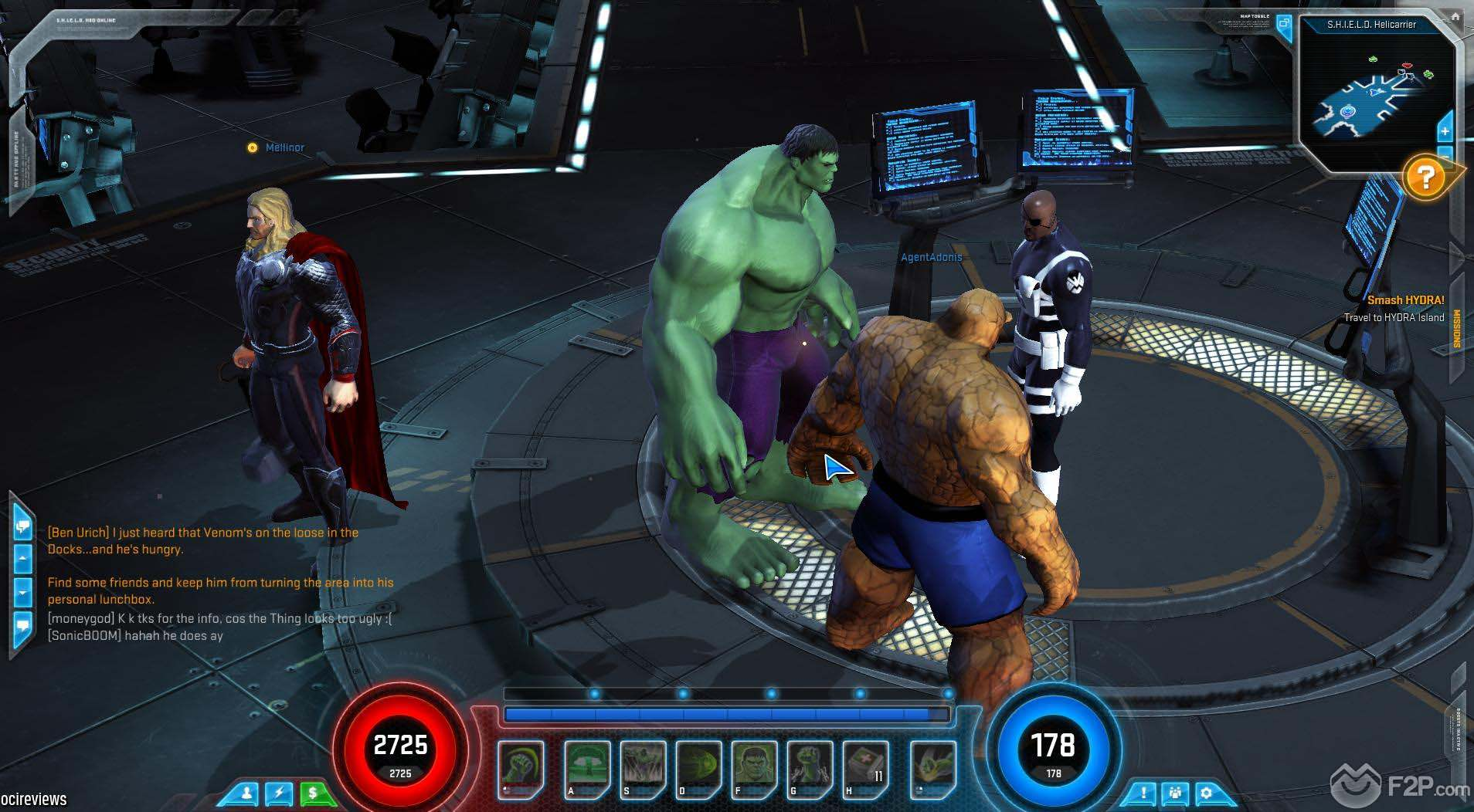 play free marvel games