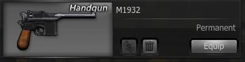 M1932Handgun - image